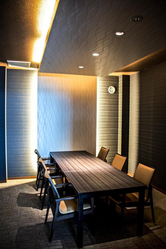 レストランの個室です