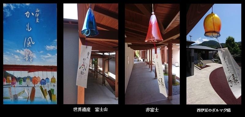 回廊の「かも風鈴」